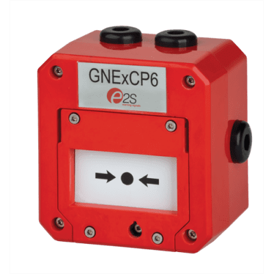 GNExCP6A-BG / GNExCP6B-BG Explosion Proof Break Glass Call Point