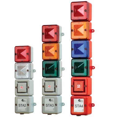 STA2/3/4 Audio Visual Tower Status Indicator