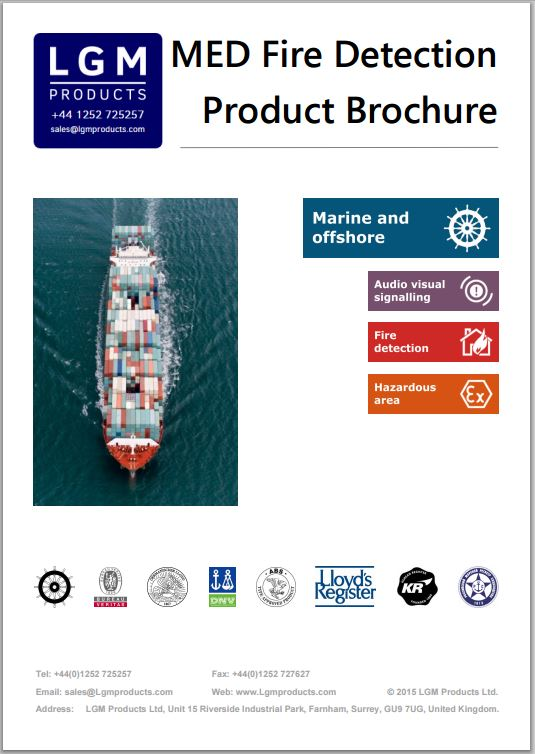 Marine Products Brochure
