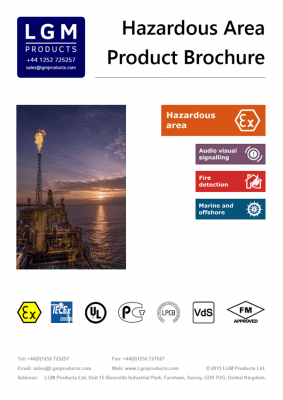 Hazardous Area brochure