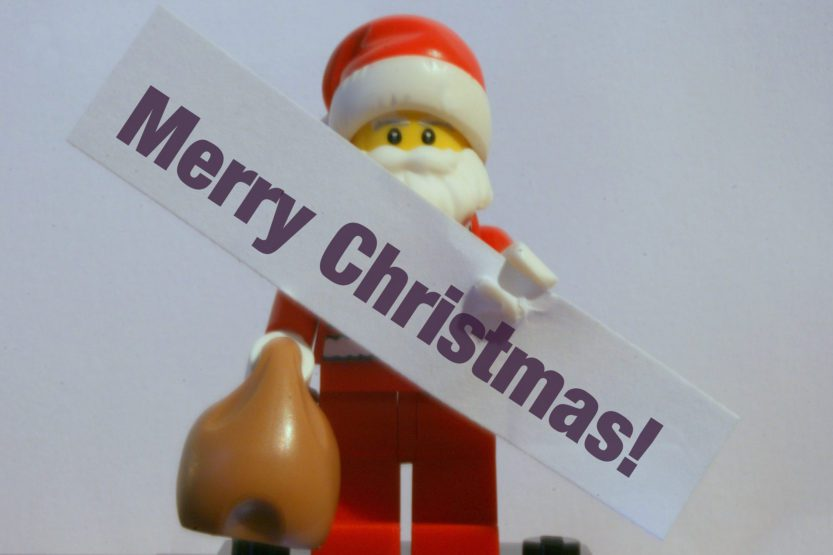 Happy Christmas Lego Man