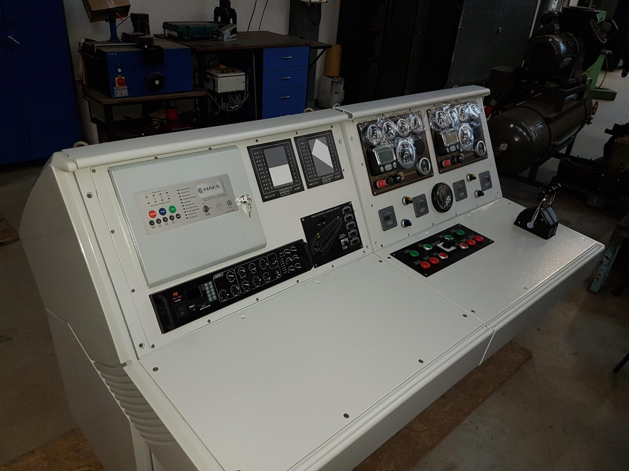 Esento Marine approved Fire Control Panel shipping