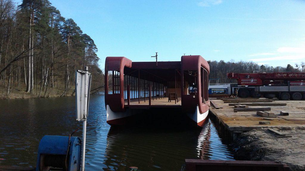 Esento Marine approved panel Catamaran